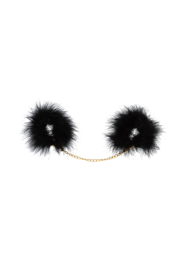 MARABOU FEATHER HANDCUFFS - Innate Intimates