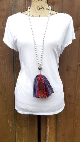 Orsola Reclaimed Silk Necklace