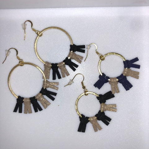 Gold Spirit Earrings