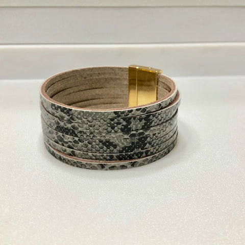 Holly Leather Bracelet