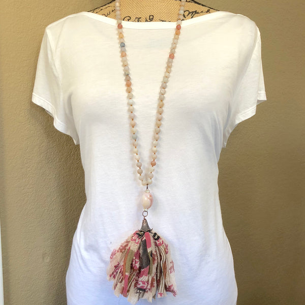 Paloma Reclaimed Silk Necklace