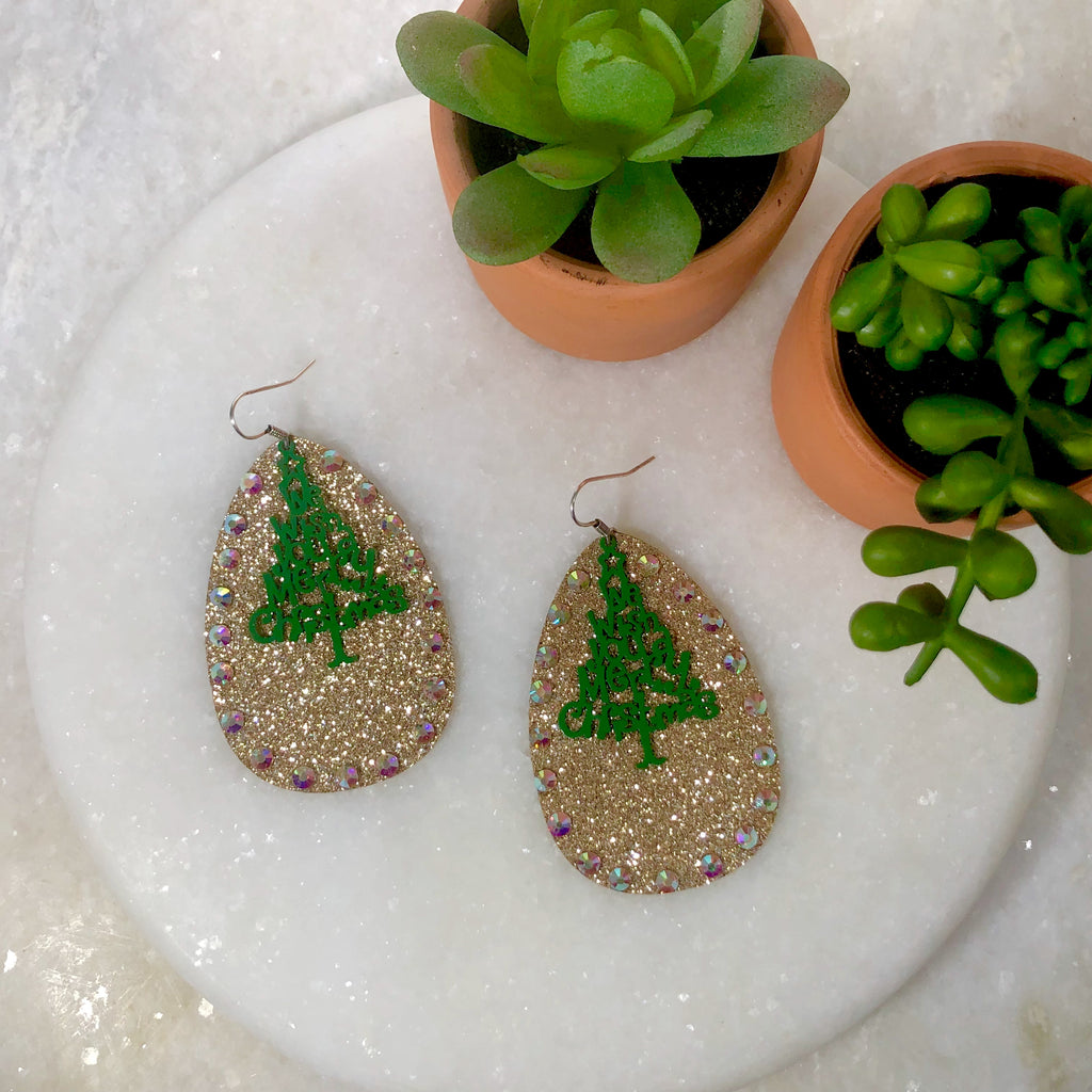 O'Christmas Tree Earring