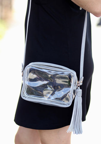 Championship Clear Crossbody Bag