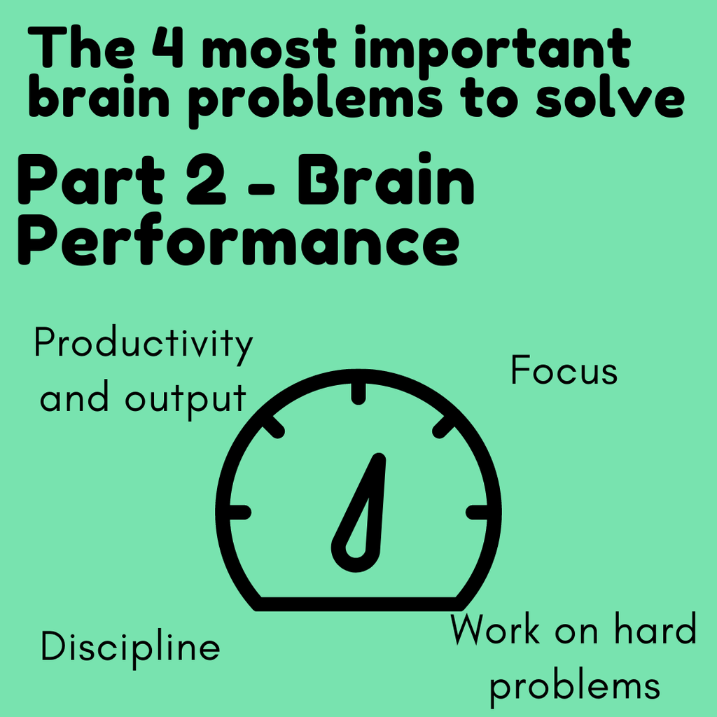 The 4 most important brain problems to solve - Part 2: Brain Performance | Neuratech