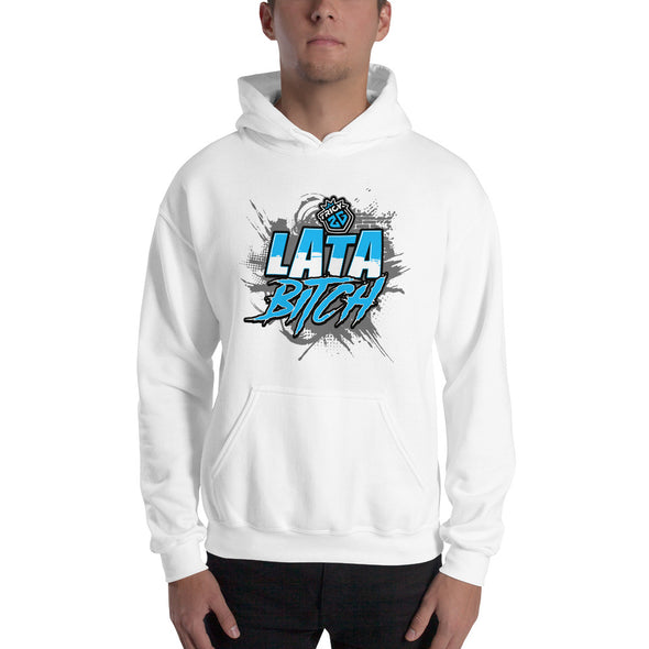 "TRICK2G ""LATA BITCH"" HOODIE (TEAL)"