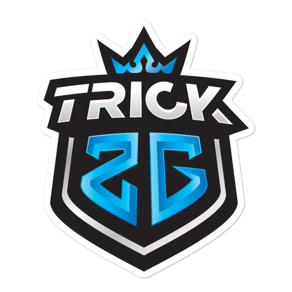TRICK2G LOGO STICKER