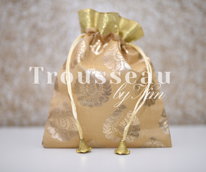 Gold Printed Favor/Gift Bags