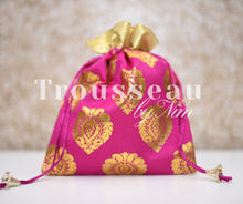 Pink Printed Favor/Gift Bags