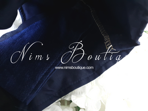 The NB Navy Mirror Blouse 10-12