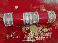 Red Wedding Choora/ Bangles