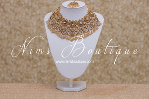 Jasmine Maharani Gold Set