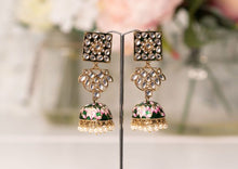 Payal Green Blossom Chumke Earrings
