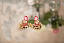 Suhana Red Blossom Earrings