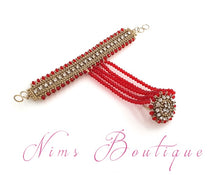 Royal Red Small Handpiece / Hath Panja