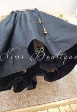 Readymade Black Silk skirt/lehnga (various sizes)
