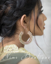 Royal Pearl Bali Earrings