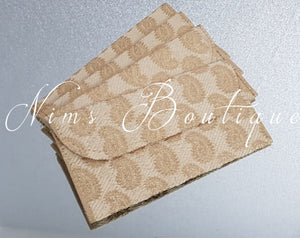 Gold Brocade Money Wallets