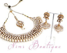 Regal Kundan & Pearl Set