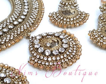 Royal Radha Antique Gold & Gold Set