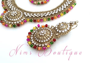 Small Royal Antique Multicolour set