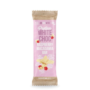 White Chocolate | Raspberry Macadamia 35g