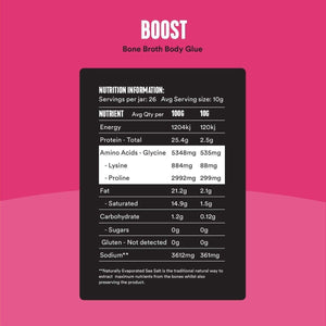 Bone Broth Body Glue | BOOST 260g