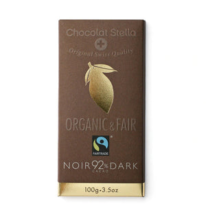 Dark Chocolate | Noir 92% Cacao 100g