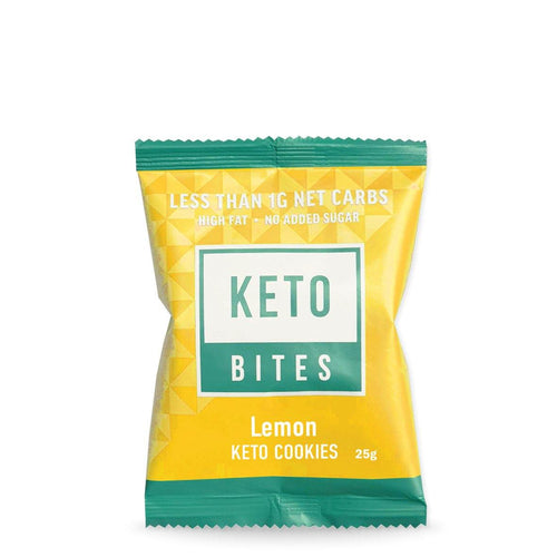 Keto Cookies | Lemon 25g