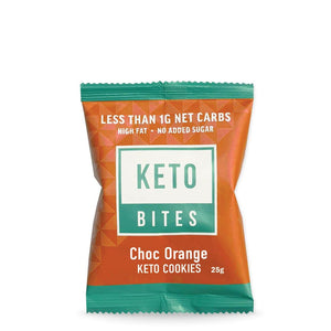 Keto Cookies | Chocolate Orange 25g