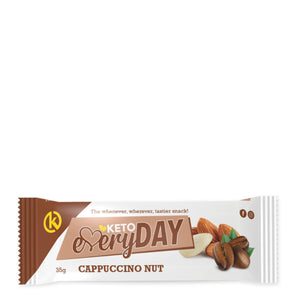 Keto EveryDay Snack Bar | Cappuccino Nut 35g