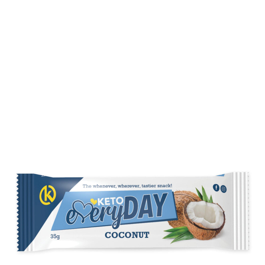 Keto EveryDay Snack Bar | Coconut 35g