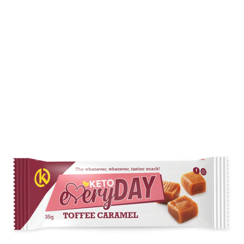 Keto EveryDay Snack Bar | Toffee Caramel 35g
