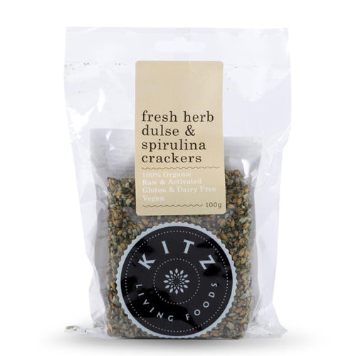 Crackers | Fresh Herb Dulse & Spirulina 100g