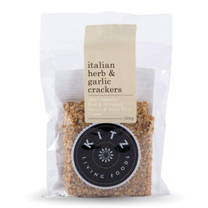 Crackers | Italian Herb & Garlic 100g