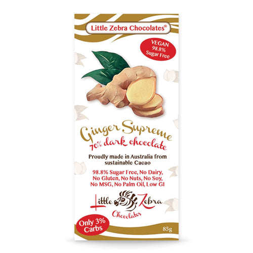 Dark Chocolate | Ginger Supreme 85g