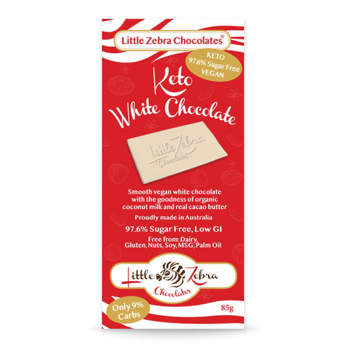 Keto White Chocolate 85g