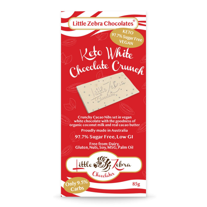 Keto White Chocolate Crunch 85g