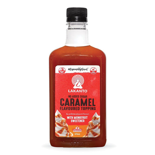 Caramel Flavoured Topping 375ml