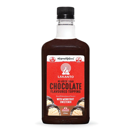 Chocolate Flavoured Topping 375ml