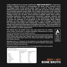 Bone Broth | Beef + Veg 100g