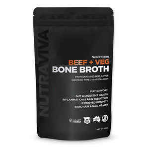 Bone Broth | Beef + Veg 100g - Keto Lane