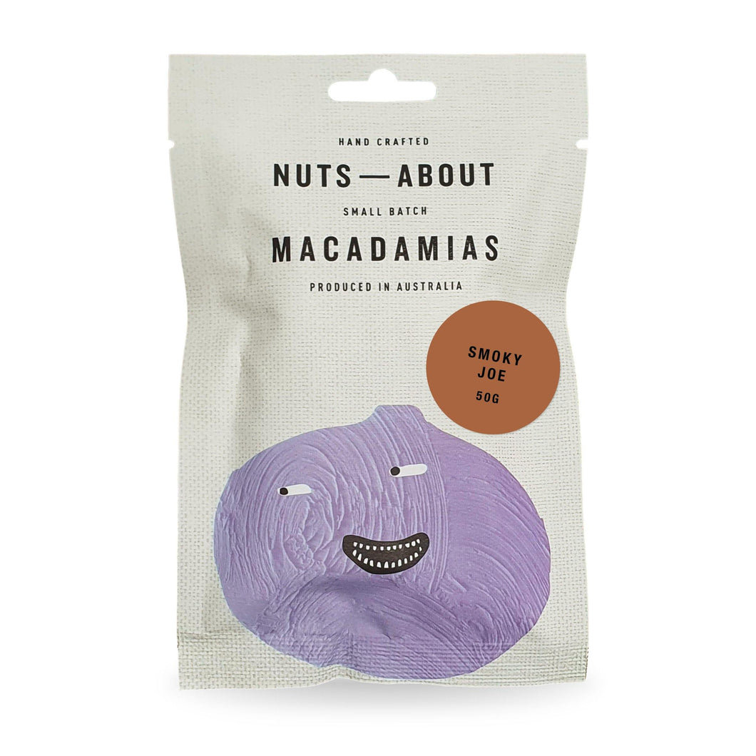 Macadamias | Smoky Joe 50g