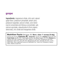 Electrolyte Drink Mix | Grape Tub 30 Servings