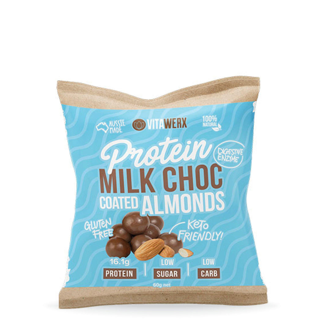 Milk Chocolate | Coated Almonds 60g