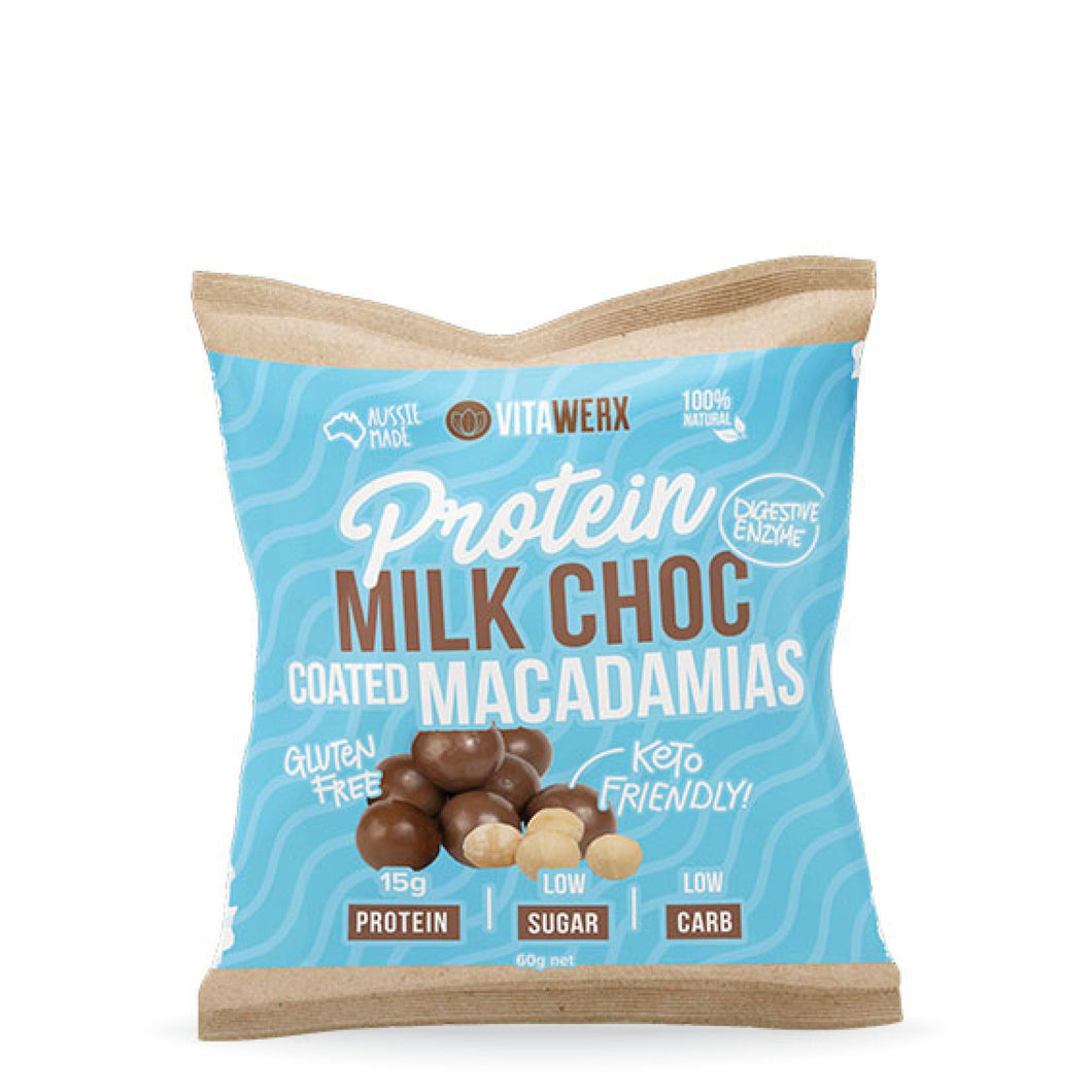 Milk Chocolate | Coated Macadamias 60g