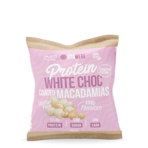 White Chocolate | Coated Macadamias 60g