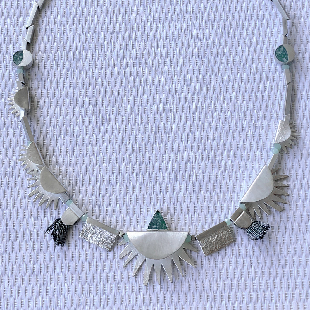 Great Central Sun Necklace