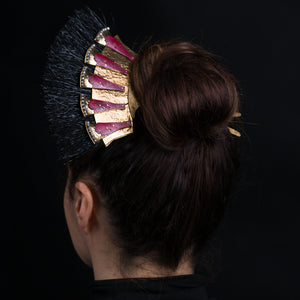 Roman Fan Hairpin
