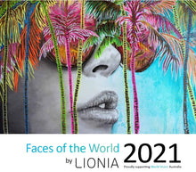 2021 Art Calendar - Colour, Culture and Hope. ORDER NOW