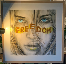 Freedom - Lucky Country Deluxe Handworked Art.